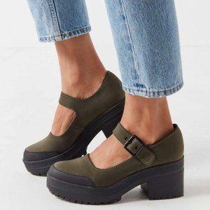 UO Neoprene Sawyer Platform Mary Jane Shoe SIZE 9